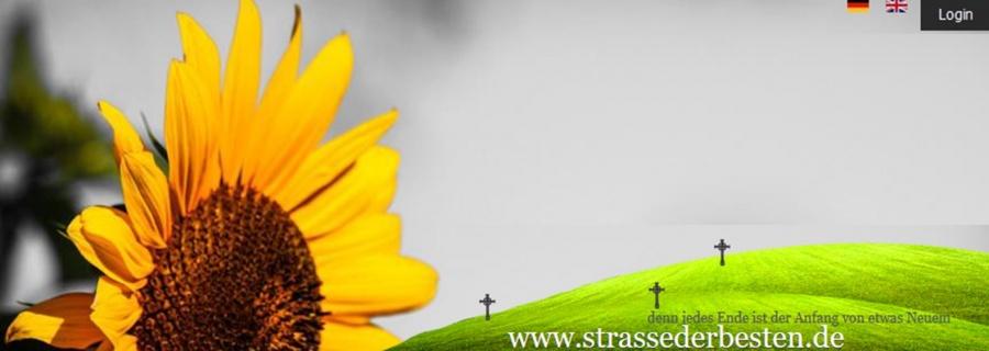 Onlinefriedhof, soulium, strasse der besten, strassederbesten, quitschie, Mournium, Mourn, Kerze online, kerze.online, kerze anzünden, würdevoll, pietät, unvergessen, Kondolenzen, Beileid, Erinnerung, himmel, licht, tod, tot,Trauer, Trauern, Online, virtueller Friedhof, Friedhof, ruhe in frieden, digitale Trauer, Gedenkstaette, Gedenkstätte, Gedenken, grab, Regenbogenbrücke, einschläfern, regenbogenbruecke, goodbye, ruhe in frieden, RIP, rest in peace, engel, angel, gedenken, pray, liebe, verlust, lost, denkmal, beileidsbekundung, bestattung, beerdigung, trauerfall, särge, urnen, trauerfeier, aufbahrung, trauerrede, grabstein, grabpflege, urnen, särge, erdbestattung, seebestattung, feuerbestattung, baumbestattung, friedwald, tierfriedhof, trauersprueche, Online-Himmel